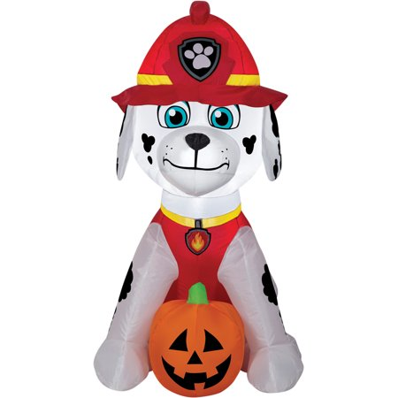 PAW Marshall Jack O Lantern Airblown Halloween Decoration
