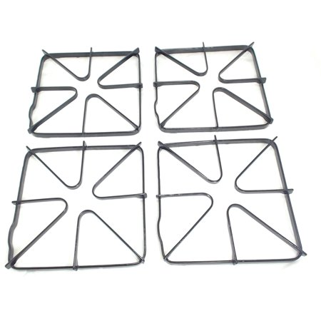Gas Stove Top Burner Grate 4 Pack for General Electric AP2622735 PS244331 WB31K6 (Grate Stove)