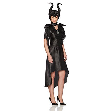 Maleficent Movie Costumes (Disguise Women's Disney Maleficent Movie Maleficent Christening Deluxe Women's Glam Gown Costume, Black,)