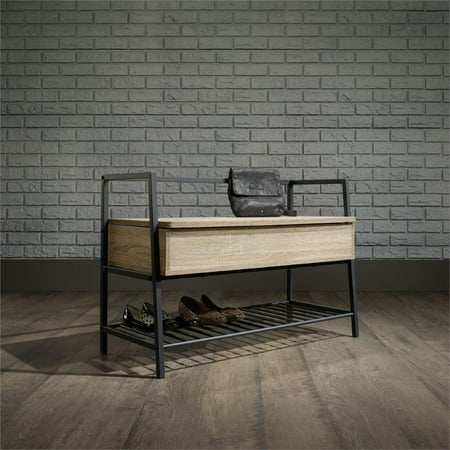 Sauder North Avenue Storage Bench in Charter Oak ()