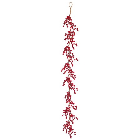 Cranberry Garland (Vickerman 6' x 5