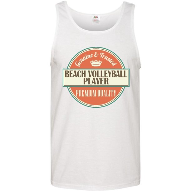 Beach Volleyball Player Funny Gift Idea Men's Tank Top