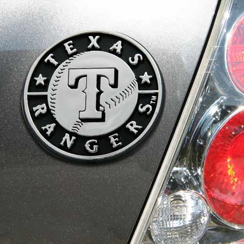 Texas Rangers Auto Emblem - No Size