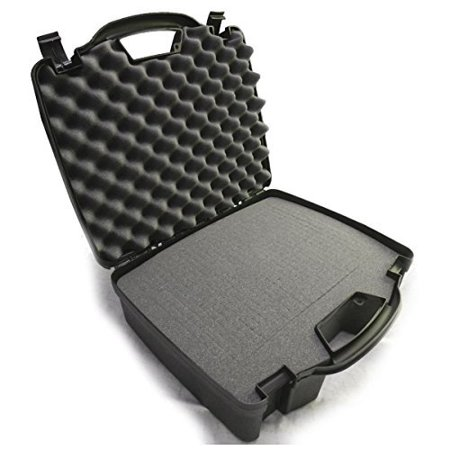 DRUMSAFE Drum Kit Microphone Carry Hard Travel Carry Case fits Kick Bass Drum Mic , Snare Tom mic , Overhead mic , Mounts , Clamps for CAD , Shure , Samson , Pyle-Pro , Audix and