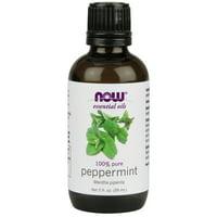 NOW Peppermint Essential Oil, 2 fl oz