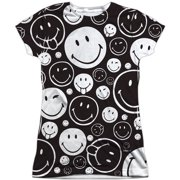 Smiley  Smiles All Around Girls Jr Sublimation White
