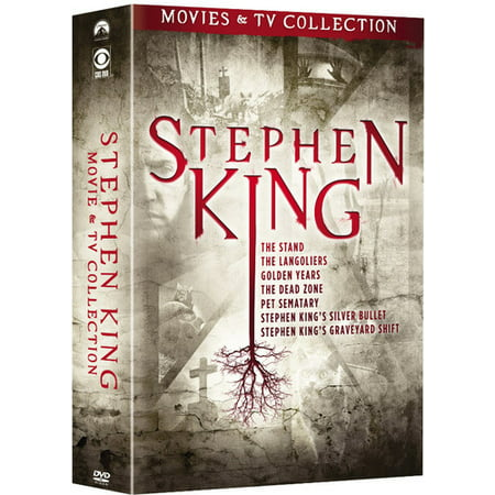 Stephen King TV and Film Collection DVD (Horror Film Characters For Halloween)