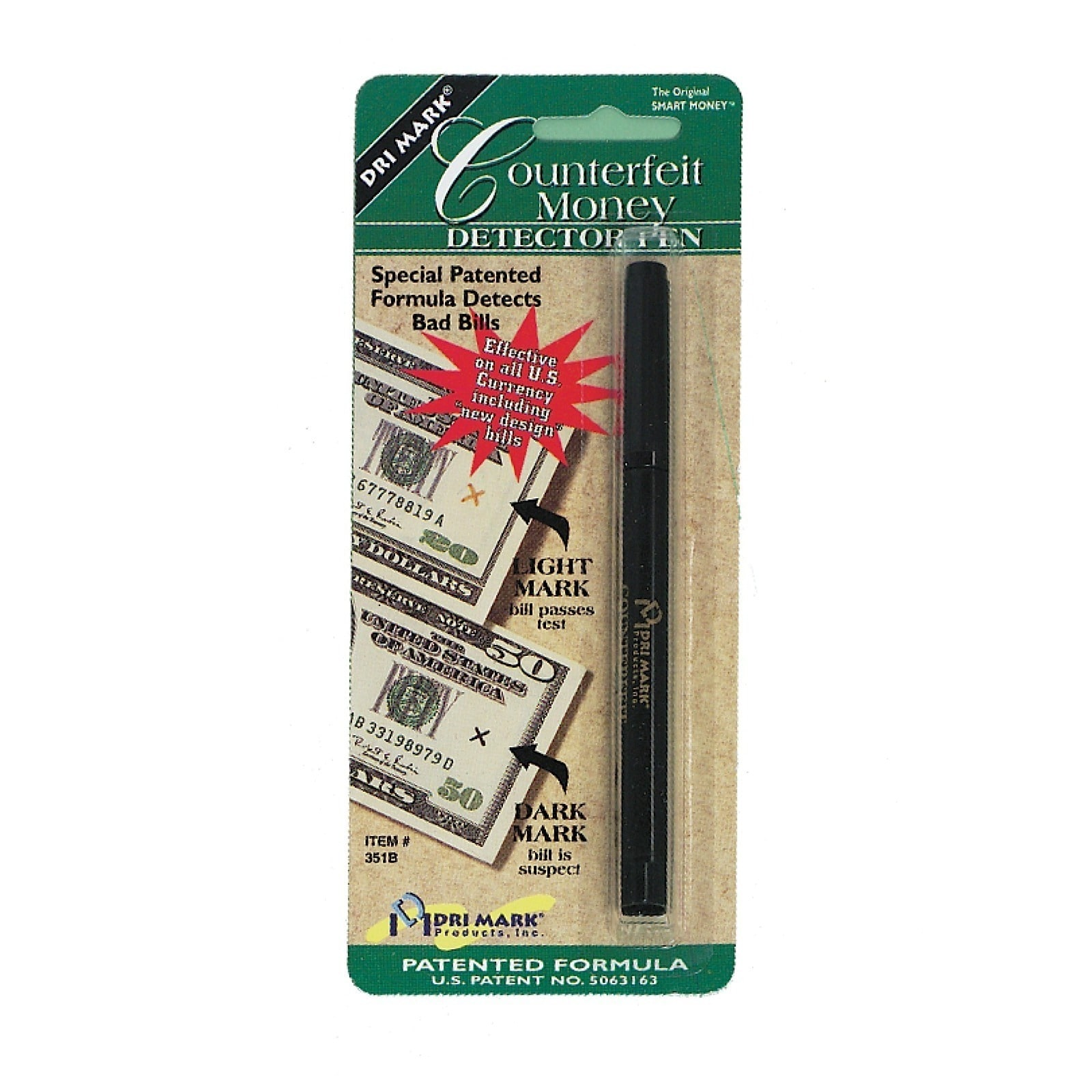 DriMark  Smart Money Counterfeit Detector Pen (Pack of 6)