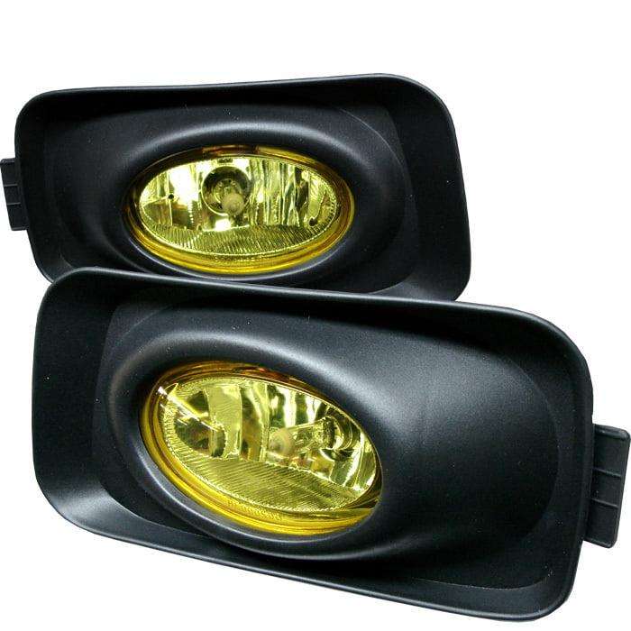 Spyder Acura TSX 04-05 (Euro Accord) OEM Fog Lights w/Switch- Yellow