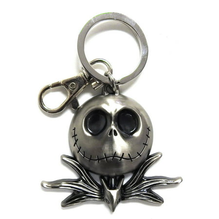 Nightmare Before Christmas Pewter Key Ring: Jack - Nightmare Before Christmas Clothing