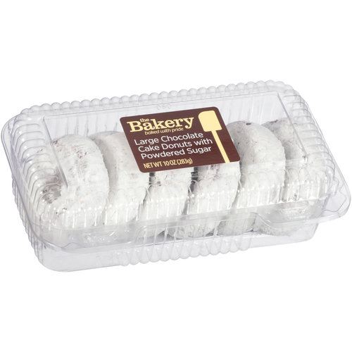 Wal-mart Bakery Large 6ct Chocolate Cake Donuts