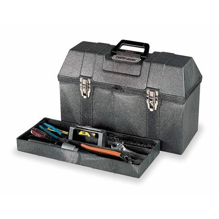 """CONTICO Portable Tool Box,20""""Wx9-3/4""""Dx12-3/4""""H HR8200GY"""