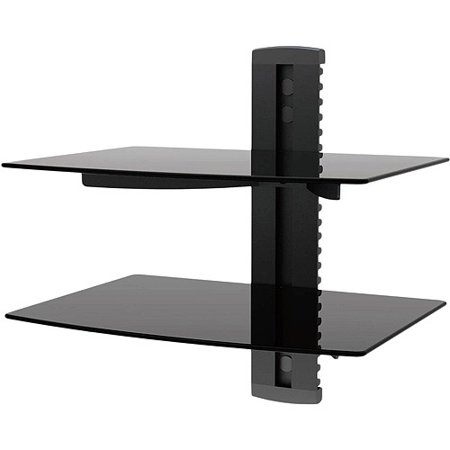 Ematic Adjustable 2 Shelf For Dvd Player Cable Box With Hdmi Cable