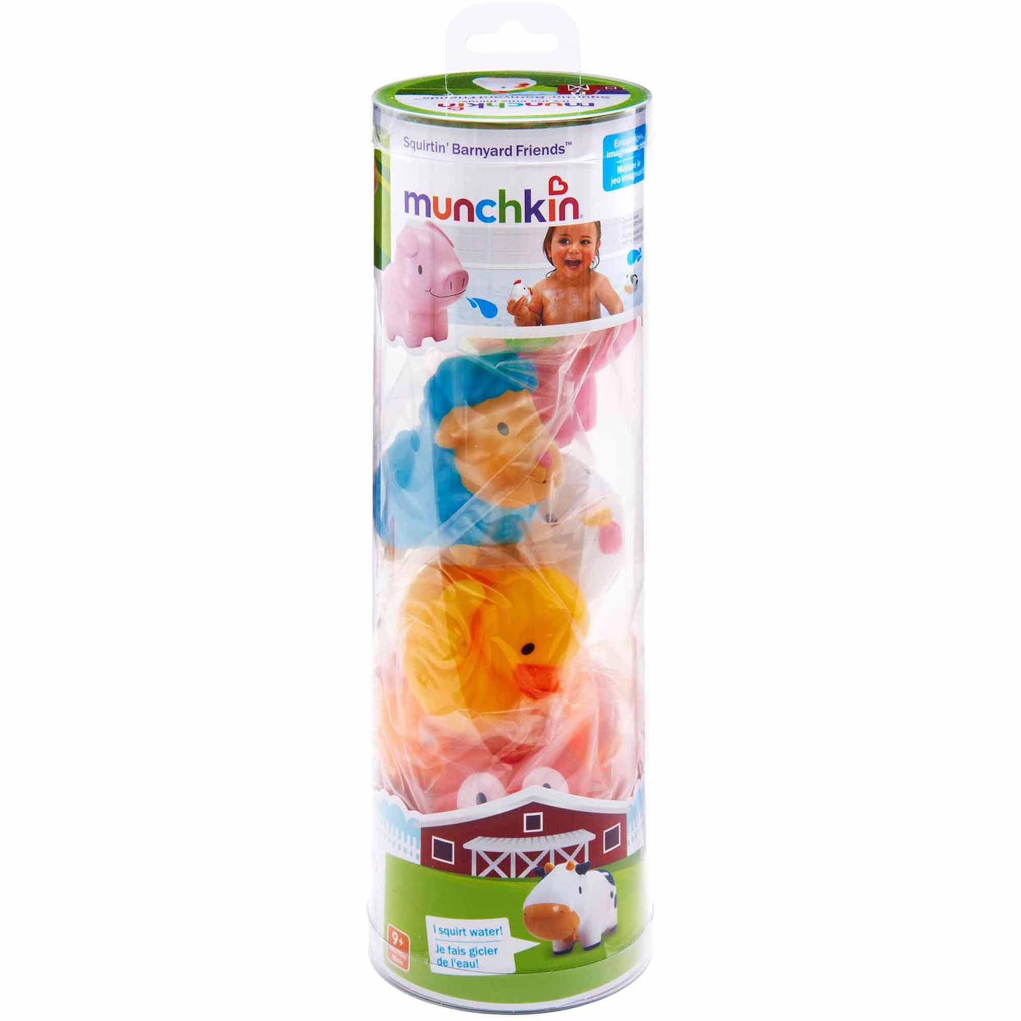 Munchkin Squirtin' Barnyard Friends, 8-Pack