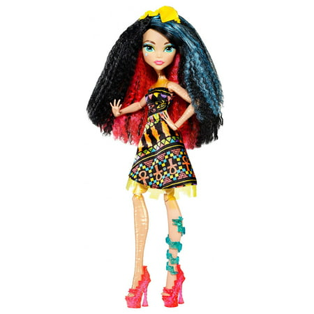 Cleo De Nile Makeup (Monster High Electrified Hair Raising Ghouls Cleo de Nile)