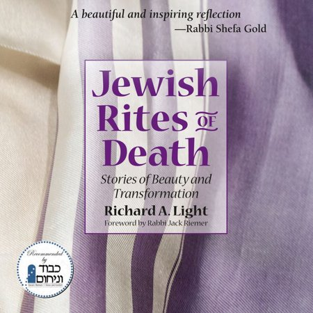 Jewish Rites of Death - eBook Death is the ultimate transformative experience. For Jewish communities, the ways this is dealt withshaped by millennia of custom and beliefdo more than routinely follow a set of prescribed practices; they provide an opening to a series of traditions compelling in their profound beauty and power. In Jewish Rites of Death, Rick Light presents both a practical, informative guide to these practices and a compendium in which local volunteers who bring the blessings of these traditions to both the deceased and the bereaved write of the immeasurable enhancement their own lives have gained from them as well. As the personal stories of author and his contributors make clear, the prayers, the physical actions in preparing the dead for burial, and the intentions of the heart involved in Jewish death rituals open a unique window on the fine line a soul passes over between this world and the next. Those choosing to involve themselves with the crossing of this boundary tell in Jewish Rites of Death of feelings, thoughts, inspirationand maybe even a little wisdomthat result from their shared experiences. Jewish tradition teaches that death is not taboo or hidden; it is simply part of the cycle of events that constitute a life. In its deepest sense, this book offers basic and eternal truths on what it really means to be human.