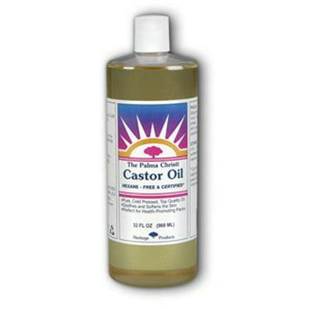 Castor Oil-Palma Christi Heritage Store 32 oz