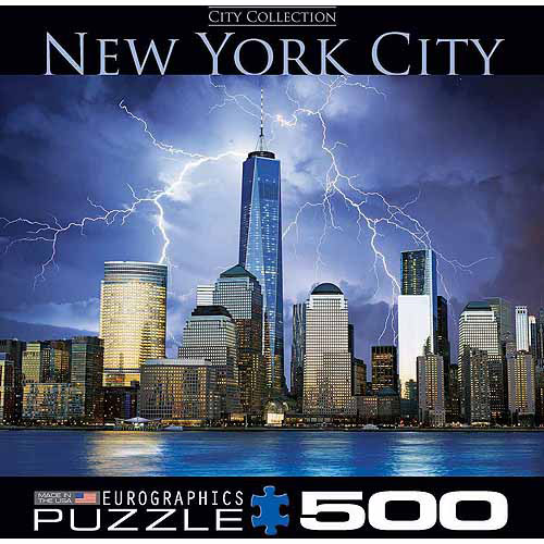 EuroGraphics New York World Trade Center 1000-Piece Puzzle