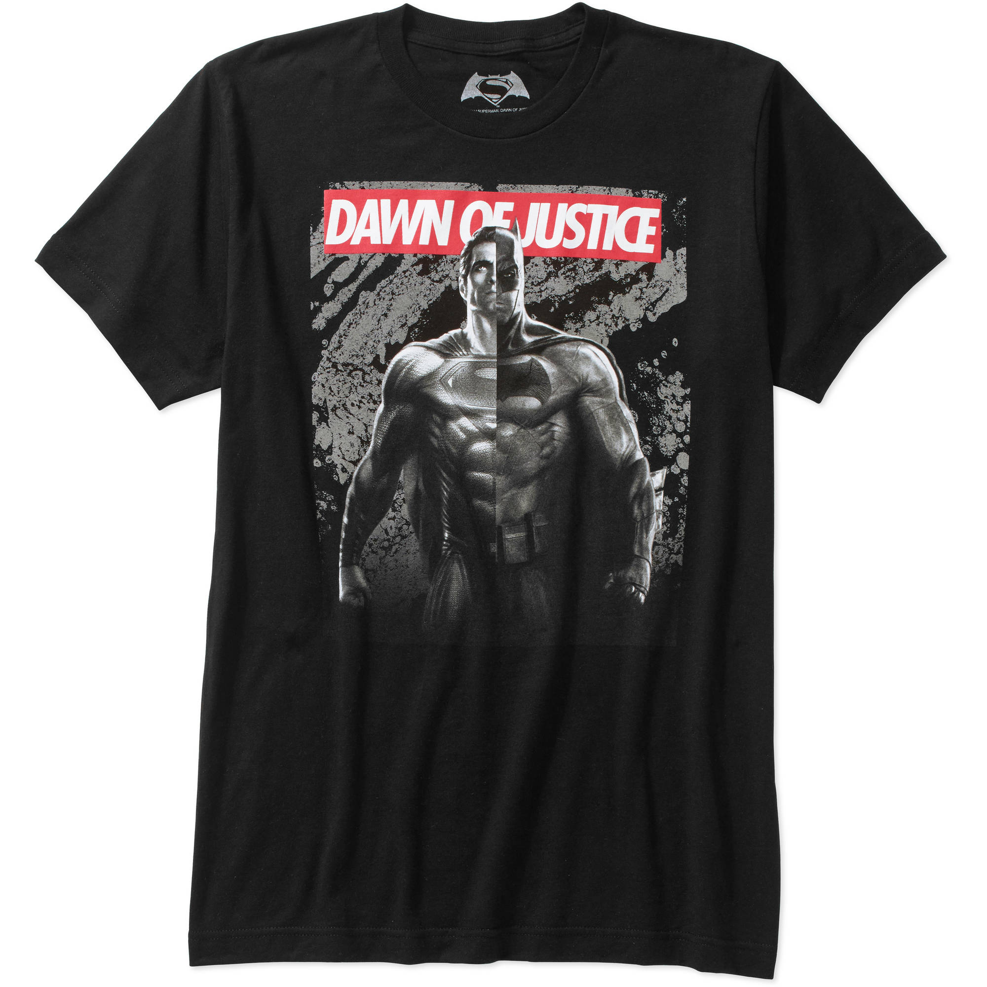 Batman v Superman: Dawn of Justice Red Banner Men's Graphic Tee