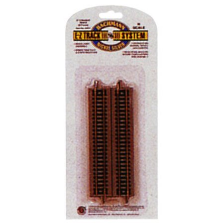 Bachmann Trains 5â Straight Track (6/Card) - N Scale