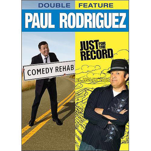 Paul Rodriguez Double Feature: Comedy Rehab / Just For The Record (Widescreen)