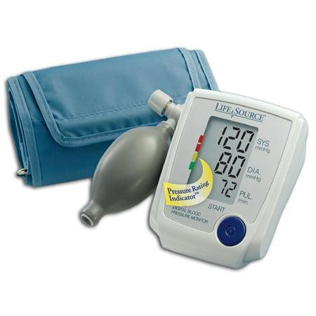 A Blood Pressure Kit Digital Manual Inflate Large Cuff