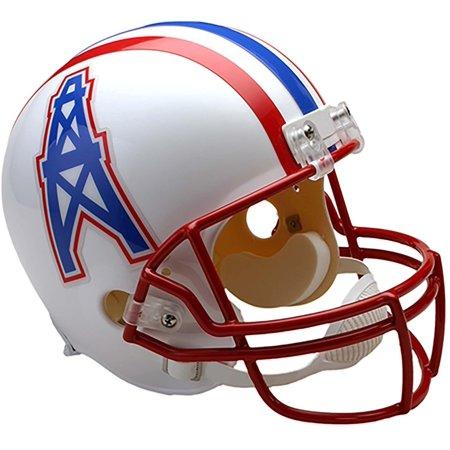 Riddell Houston Oilers Throwback 1991 - 1996 VSR4 Full-Size Replica Football Helmet