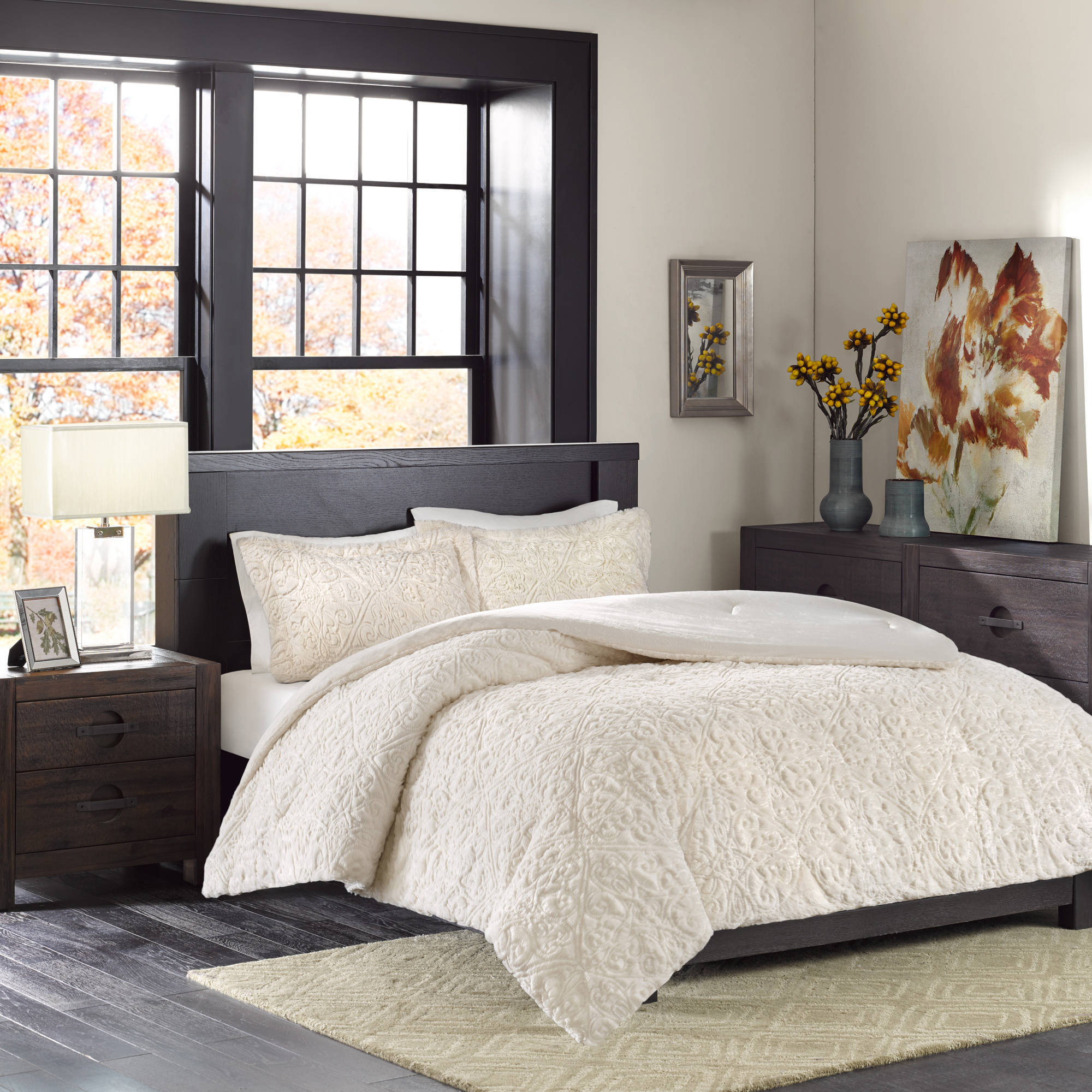 discontinued caribbean joe micro mink down alternative discontinued caribbean joe micro mink down alternative reversible comforter set walmart com