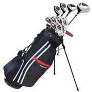 "Prosimmon Golf X9 V2 Tall +1"" Mens Graphite/Steel Golf Club Set & Bag"