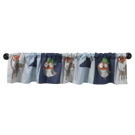 Sports Valance (BedTime Originals Baby League Sports Animals Window)