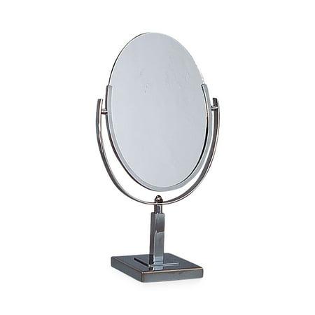 Tilting Clear Acrylic Countertop Mirror - 6