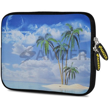 Designer 10.5 Inch Soft Neoprene Sleeve Case Pouch for Samsung Galaxy Tab A 10.1 2016, Tab 4 10.1, LG G Pad X 10.1, ASUS ZenPad Z300M 10.1, Fire HD 10 Tablet - Dream (Padded Neoprene Pouch)