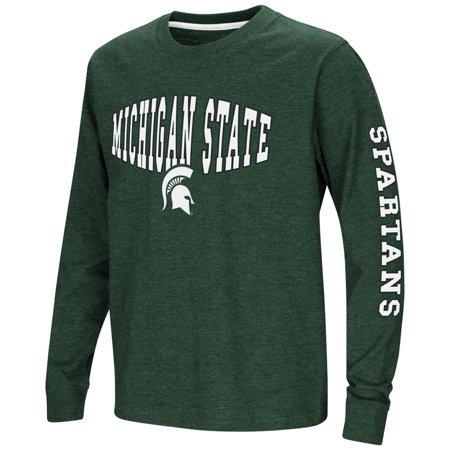 Michigan State Clothing (Michigan State University Youth Long Sleeve Tee Spike L/S)