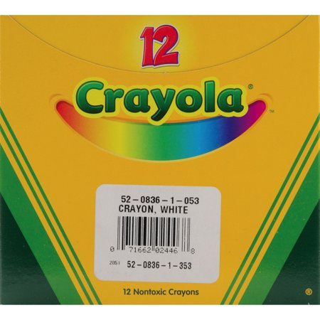 crayola crayons white 12pkg - Pictures Of Crayola Crayons