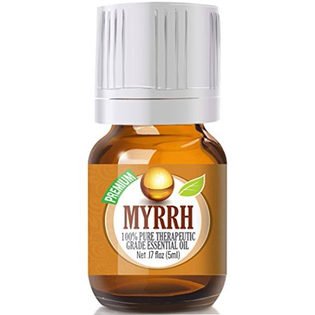 Healing Solutions - Myrrh Oil (5ml) 100% Pure, Best Therapeutic Grade Essential Oil - (Best Oil For Skin Healing)