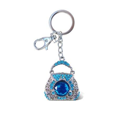 Sparkling Charms - Blue Purse