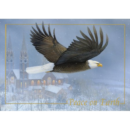 - LPG Greetings Eagle: Peace on Earth Sam Timm Christmas Card