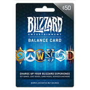 Battle.net Balance Store Gift Card $50, Blizzard Entertainment [Digital Download]