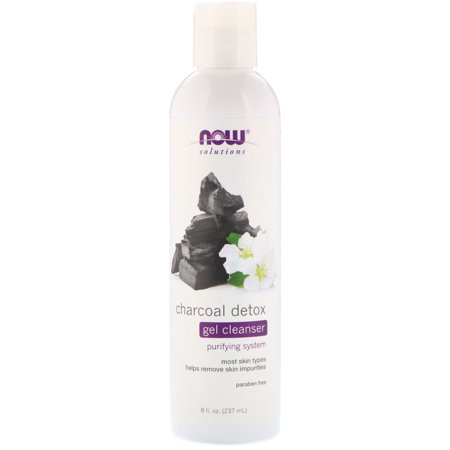 Now Foods  Solutions  Charcoal Detox Gel Cleanser  8 fl oz  237