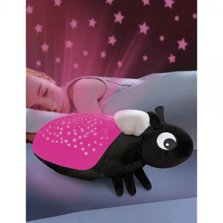 - Discovery Kids Constellation Projection Pink Firefly Light Projects 3 Color Lamp