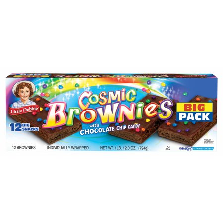 Little Debbie Cosmic Brownies, 12 pk./12 oz. - Halloween Little Debbie Snacks