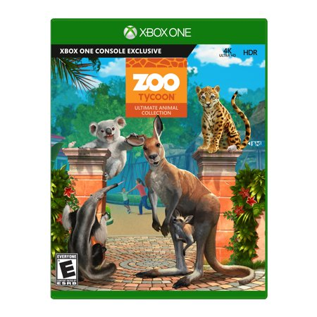 Zoo Tycoon, Microsoft, Xbox One, 889842230956