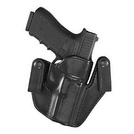 Hand 1911 Leather - Aker Leather 76 IWB Patriot Colt 1911 Holster Right Hand Plain Black