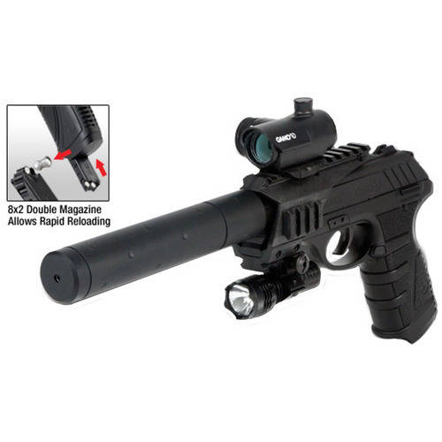 Gamo P-25 Blowback CO2-Powered Air Pistol