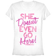 Mean Girls Juniors' Doesn't Go Here T-Shirt