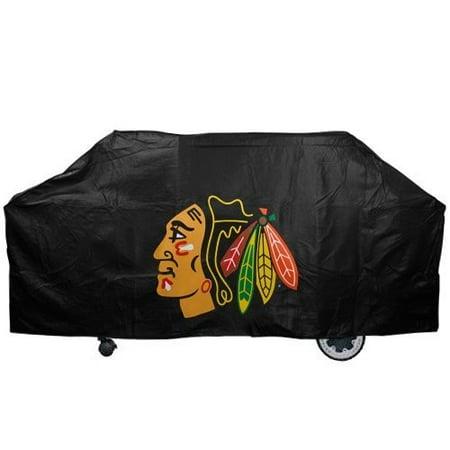 NHL Chicago Blackhawks Black Economy Grill Cover (Covers Com Nhl)