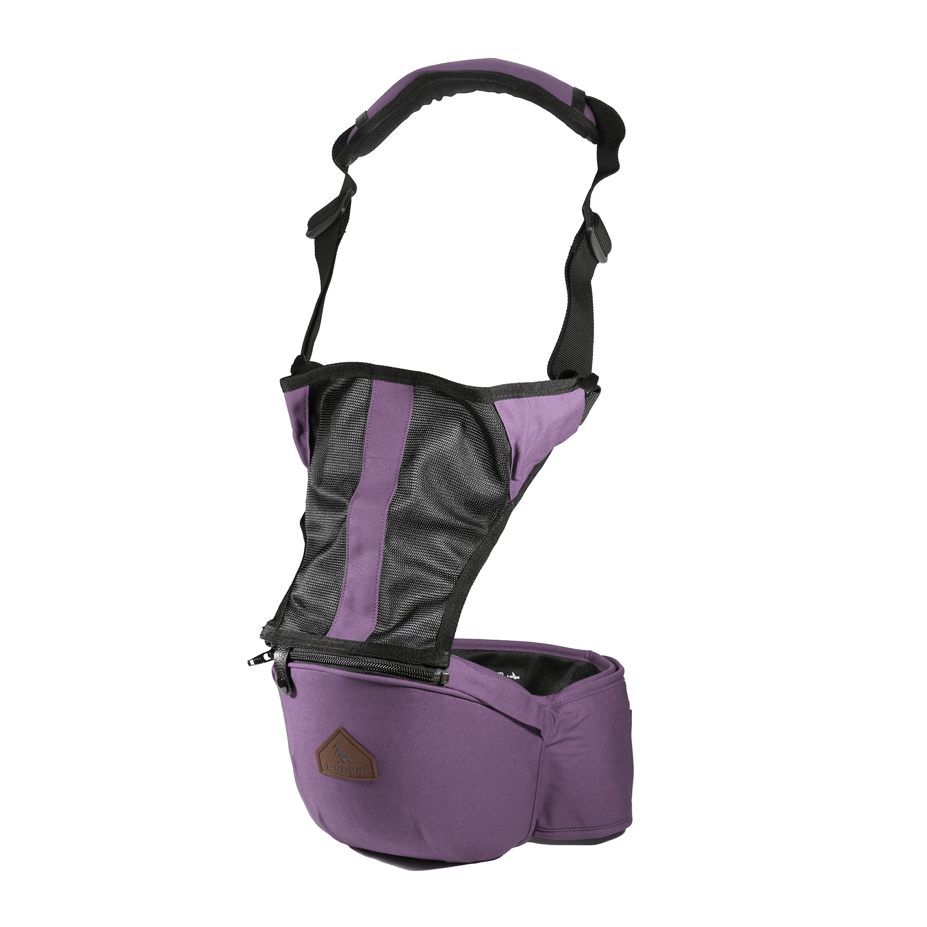 Simple Purple l Angel Safey Hip Seat Baby Carrier Sling Backpack Infant Belt for All Seasons and Shapes by Unbranded