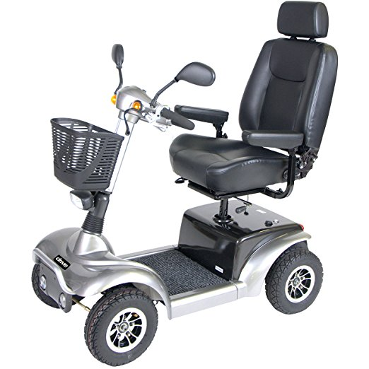 Drive Medical Heavy Duty 4 Wheel Prowler Mobility Scooters - 20 Inch Seat