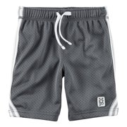 Carters Baby Boys Active Mesh Shorts Gray