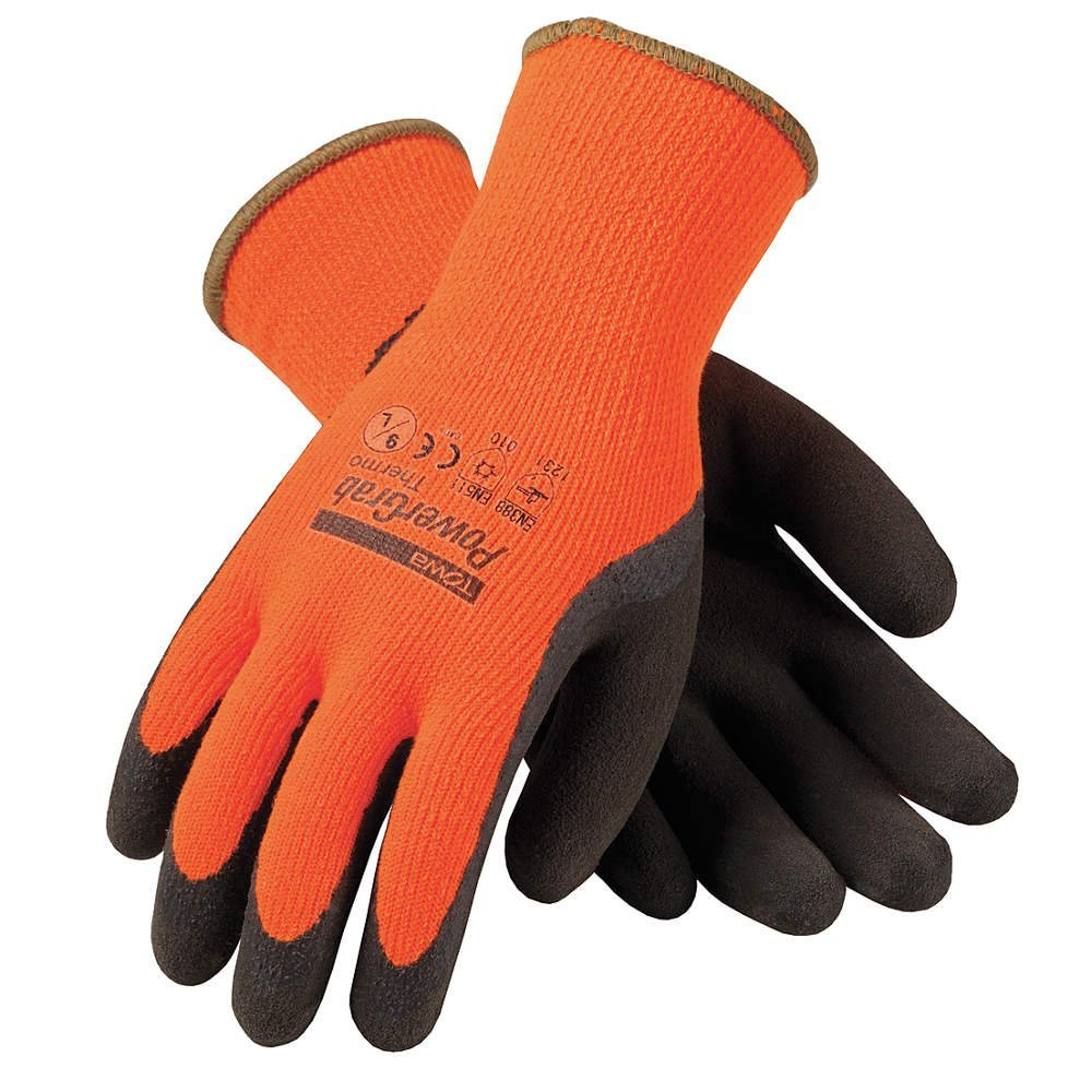 Winter Glove, M, Orange Brown, PR, Price For: Each Country of Origin (subject to change): China By PIP by
